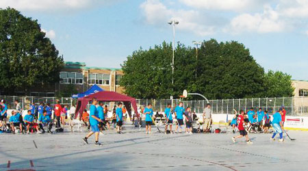 tournoi de hockey cosom
